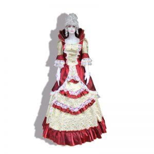 barok dönem kostümü