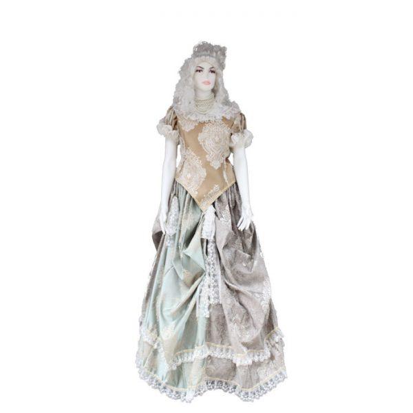 kadın barok kostümü
