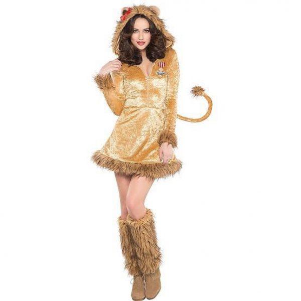 aslan kostümü yetişkin