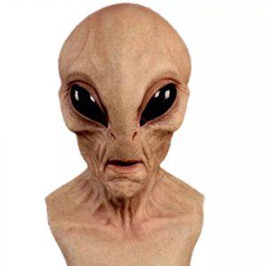 latex uzaylı maskesi