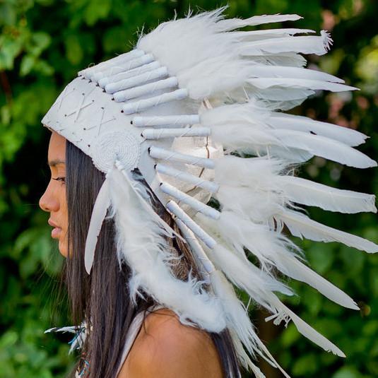 Kızılderili Beyaz Başlık
