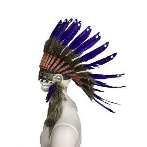 Mor Kızılderili Başlık
